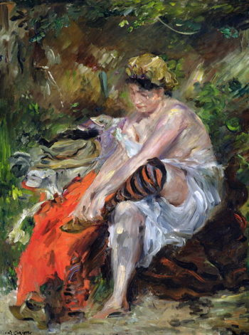After The Swim 1906 | Lovis Corinth | oil painting