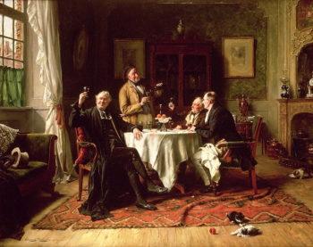 A Fine Vintage | Gerard Portielje | oil painting
