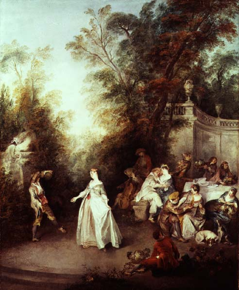 A Feast | Nicolas Lancre | oil painting
