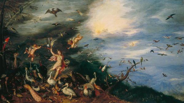 Air Allegories of the Four Elements | Jan the Elder Brueghel | oil painting