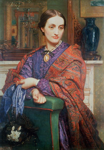 A Lady in an Interior | William Holman Hun | oil painting