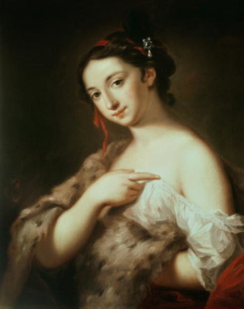 A Lady | Rosalba Giovanna Carriera | oil painting