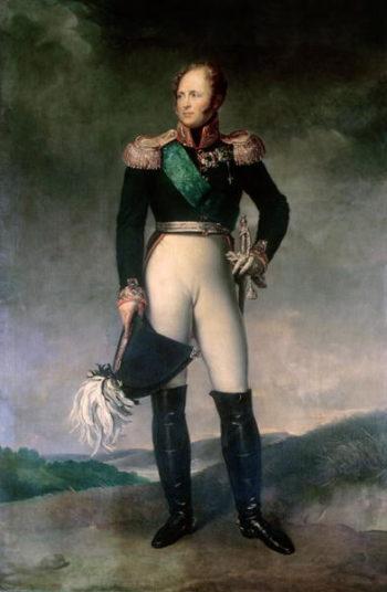 Alexander I of Russia | Francois Pascal Simon Baron Gerard | oil painting