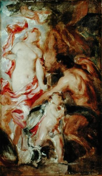 Allegorical Study A Sketch | William Etty | oil painting