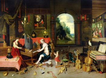 Allegory of Hearing | Jan van Kessel | oil painting