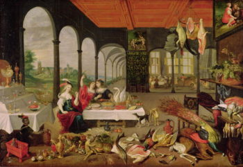 Allegory of Taste | Jan the Elder Brueghel | oil painting
