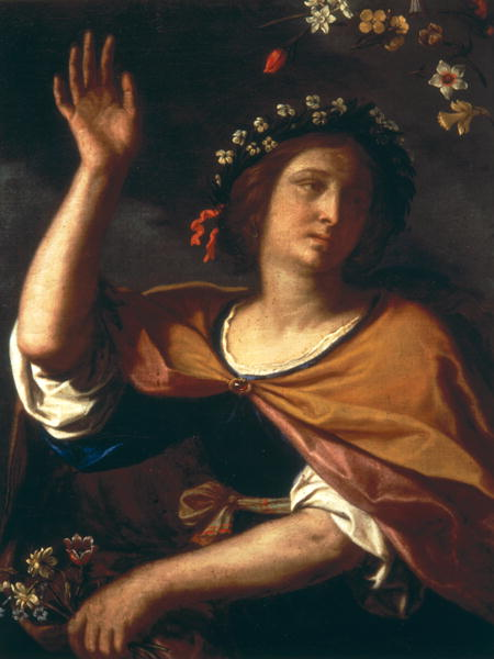 Allegory of Spring | Guercino | oil painting