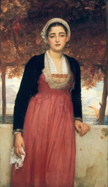 Amarilla | Frederic Leighton | oil painting