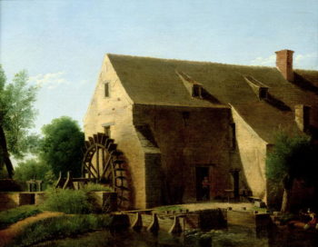 A Mill 1800 | Jean Victor Bertin | oil painting