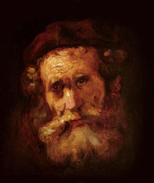A Rabbi | Rembrandt Harmensz van Rijn | oil painting