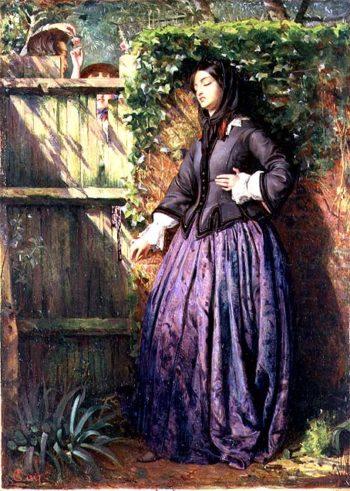 Broken Vows 1857   Philip Hermogenes Calderon   oil painting