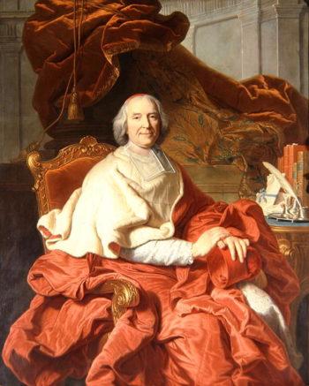 Cardinal Fleury | Hyacinthe Rigaud | oil painting