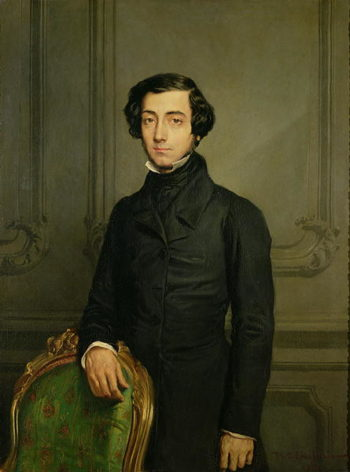 Charles Alexis Henri Clerel de Tocqueville   Theodore Chasseriau   oil painting