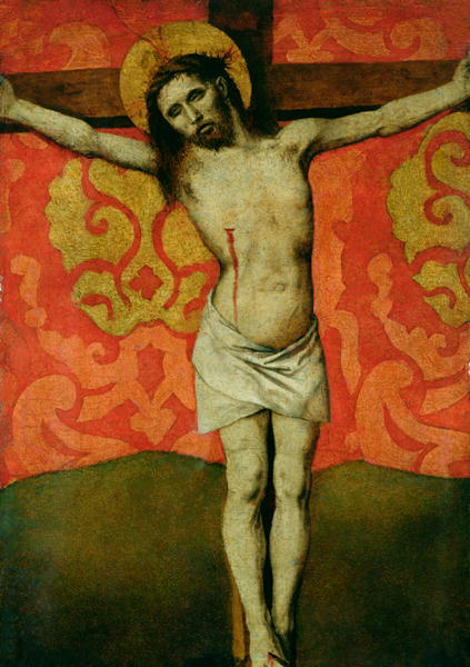 Christ on the Cross 1445 50 | Barthelemy d'Eyck | oil painting