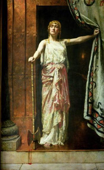 Clytemnestra 1882 | John Collier | oil painting