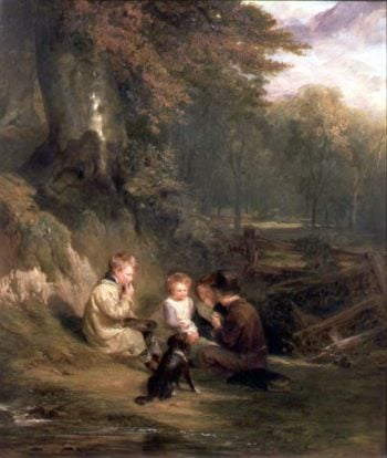 Nutting Party 1831 | William Collins | oil painting