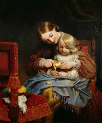 Convalescent | Charles West Cope | oil painting