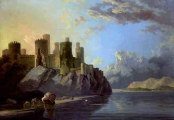 Conway Castle | William Hodges | oil painting