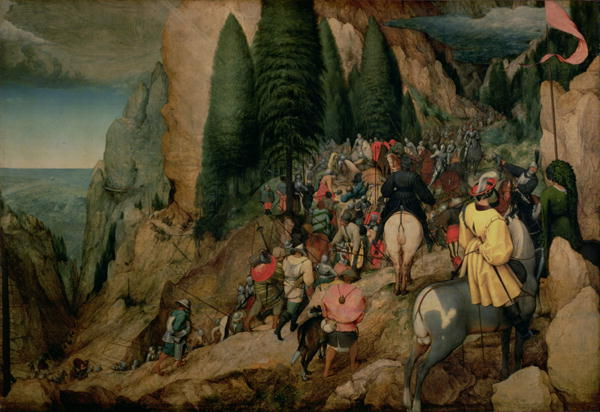 Conversion of St Paul 1567 | Pieter the Elder Brueghel | oil painting
