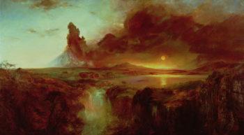 Cotopaxi Ecuador 1862 | Frederic Edwin Church | oil painting