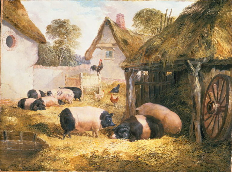 Cottage Hospitality | William Collins | oil painting