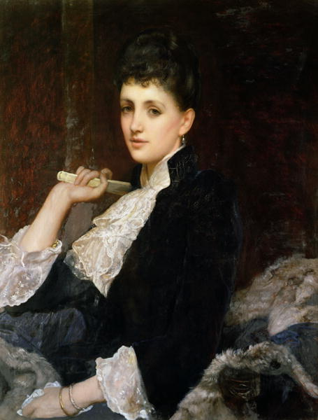 Countess of Airlie | Sir William Blake Richmond | oil painting