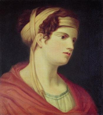 Countess Therese Brunswick   Johann Baptist I Lampi   oil painting