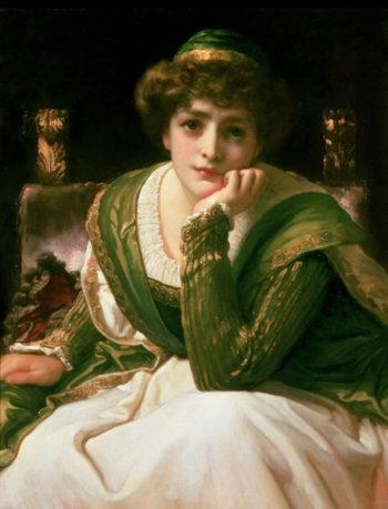 Desdemona | Frederic Leighton | oil painting