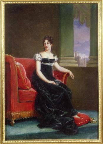 Desiree Clary | Francois Pascal Simon Baron Gerard | oil painting