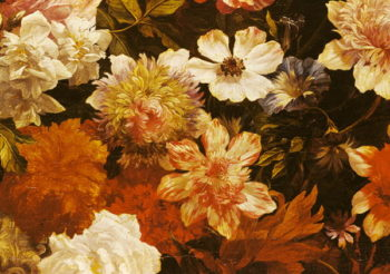 Detail of Flowers | Michelangelo Cerquozzi | oil painting