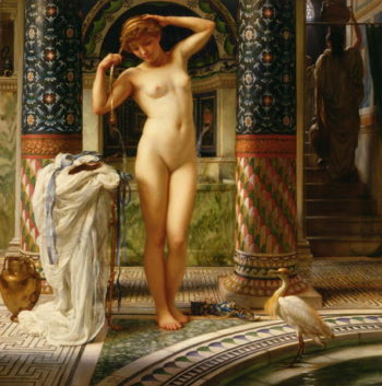 Diadumene 1883 | Sir Edward John Poynter | oil painting