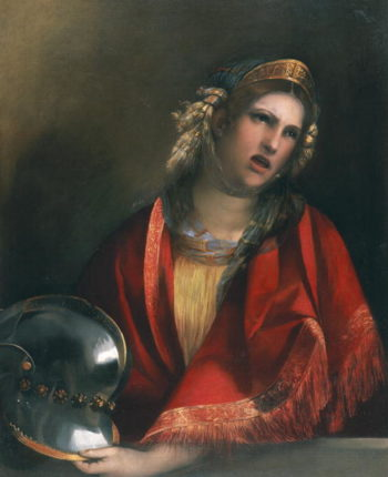 Dido crying over Aeneas | Dosso Dossi | oil painting