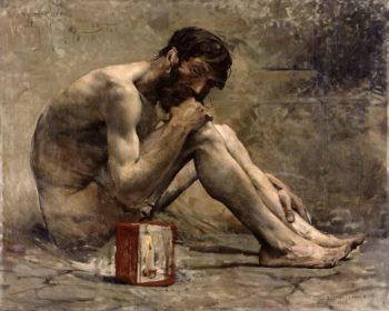 Diogenes 1905 | Jules Bastien Lepage | oil painting
