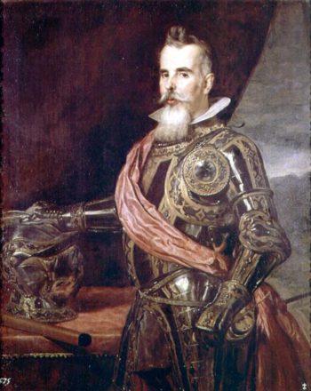 Don Juan Francisco Pimentel | Diego Rodriguez de Silva y Velasquez | oil painting