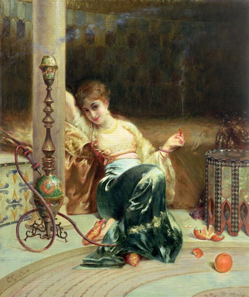 Dreams | Edouard Frederic Wilhelm Richter | oil painting