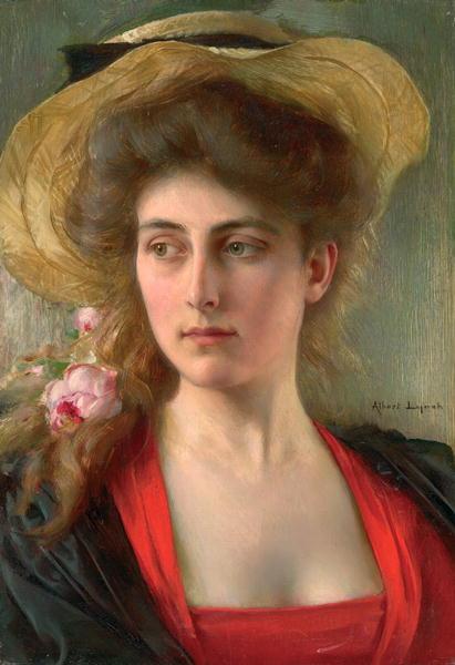 Elegante | Albert Lynch | oil painting