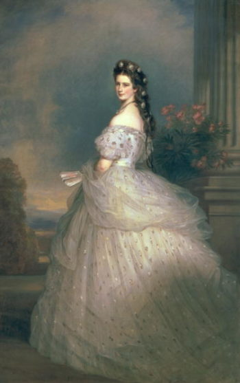 Elizabeth of Bavaria | Franz Xavier Winterhalter | oil painting