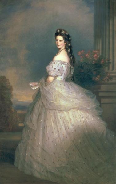 Elizabeth of Bavaria | Franz Xavier Winterhalter | oil painting
