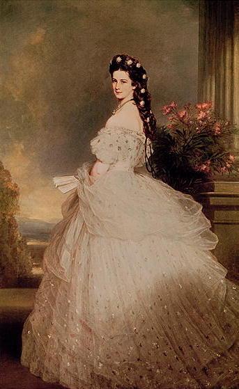 Elizabeth | Franz Xavier Winterhalte | oil painting