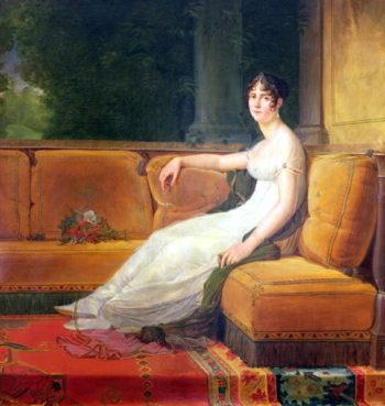 Empress Josephine | Francois Pascal Simon Baron Gerard | oil painting