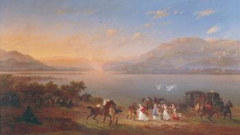 Empress Josephine | Hippolyte Lecomte | oil painting