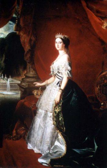 Empress Eugenie of France | Franz Xavier Winterhalter | oil painting