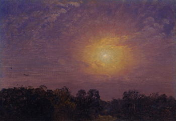 Evening 1859 | Jasper Francis Cropsey | oil painting
