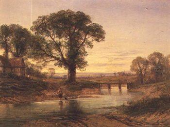 Evening | Thomas Creswick | oil painting