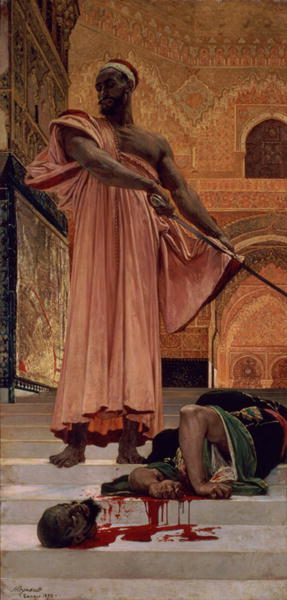 Execution Without Trial under the Moorish Kings in Granada 1870 | Henri Alexandre Georges Regnault | oil painting
