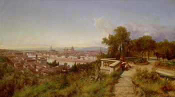 Florence | Andreas Marko | oil painting