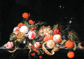Flowers and Still Life | Cornelis de Heem | oil painting