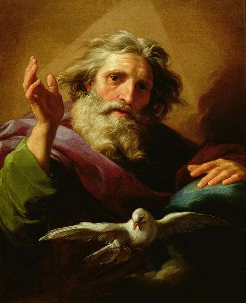 God the Father 1779 | Pompeo Girolamo Batoni | oil painting