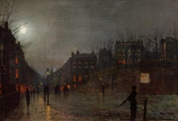 Going Home at Dusk 1882 | John Atkinson Grimshaw | oil painting