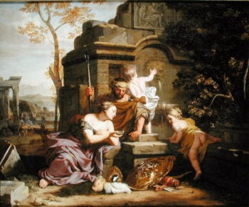 Granida and Daiphilo | Gerard de Lairesse | oil painting